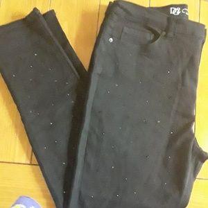 Dg2 black skinny jeans